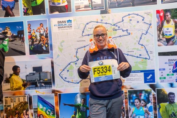RunAndreaRun Berlin marathon 1