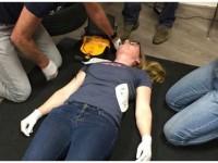 RunAndreaRun reanimatie AED