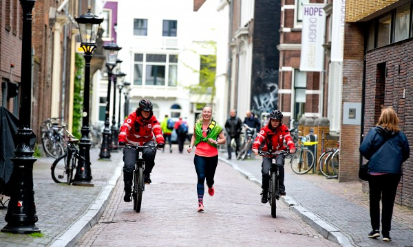 Utrecht Urban Trail 2017. Foto Bart Hoogveld