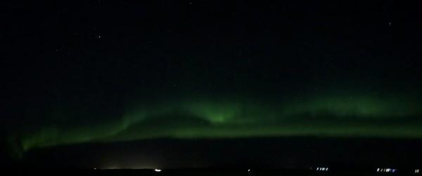 IJsland Reykjavik noorderlicht